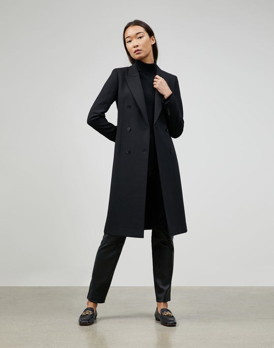 Luxe Italian Double Face Marcks Coat