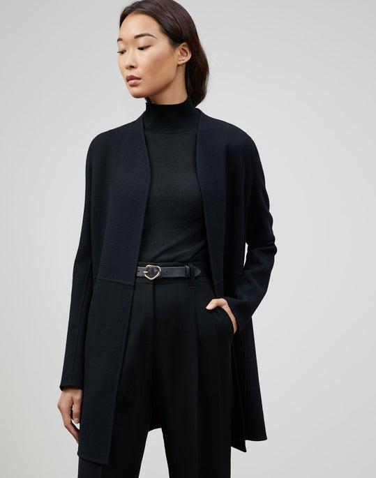 Plus-Size Nouveau Crepe Marlow Jacket