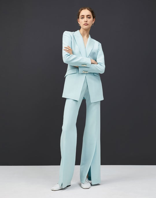 Royer Blazer and Roosevelt Wide Leg Pant