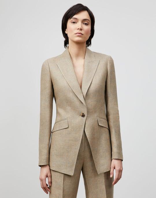 Royer Blazer In Moda Linen