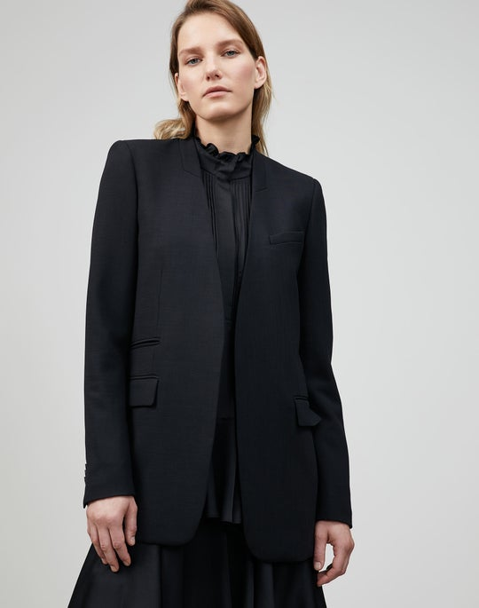 Petite Luxe Italian Double Face Digby Blazer