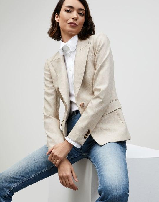 Italian Vintage Weave Sloan Blazer