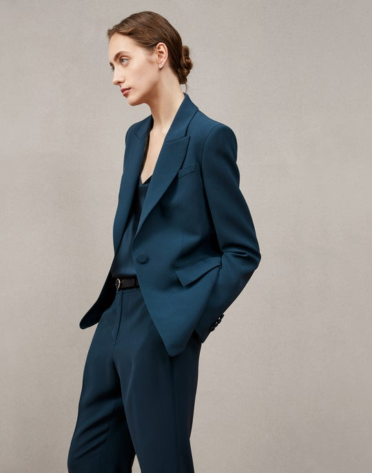 Sloan Blazer and Clinton Ankle Pant