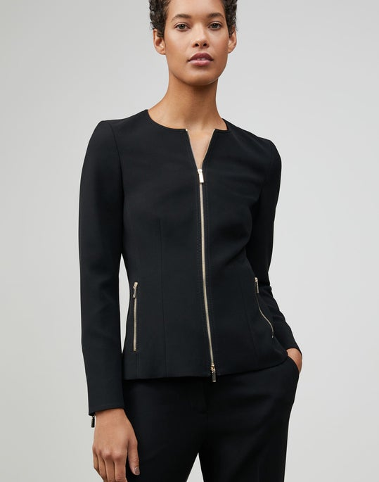 Finesse Crepe Manon Jacket