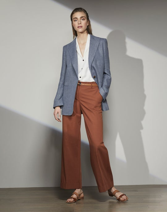 Hurley Blazer and Broadway Cropped Pant