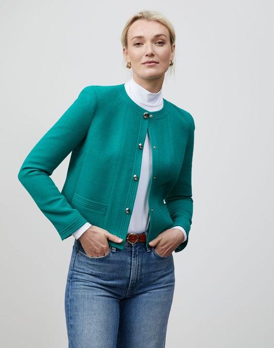 Petite Nouveau Crepe Sami Jacket