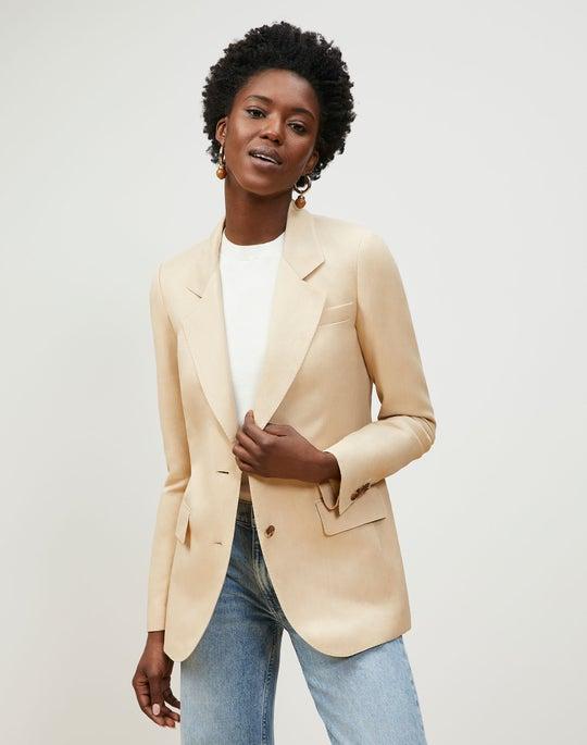 Turner Blazer In Veranda Cloth