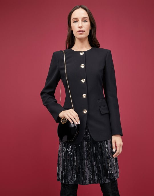 Eleonore Jacket and Lucienne Skirt