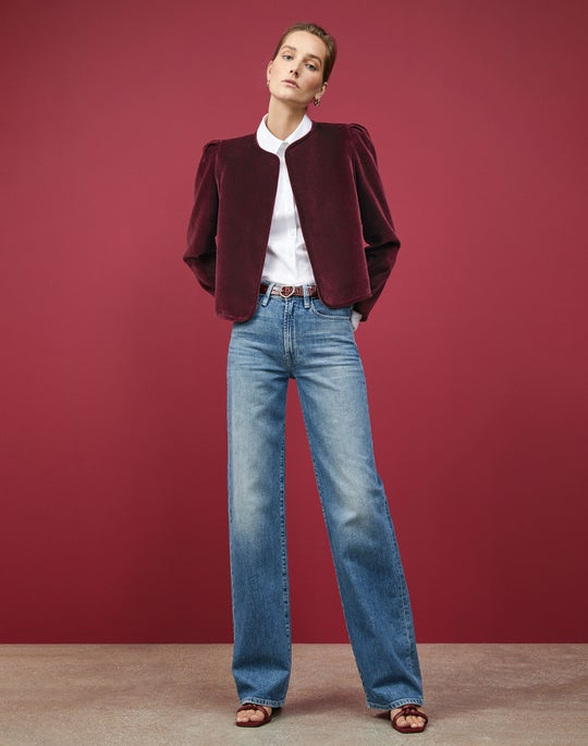 Velvet Scarlet Jacket and Wyckoff Jean