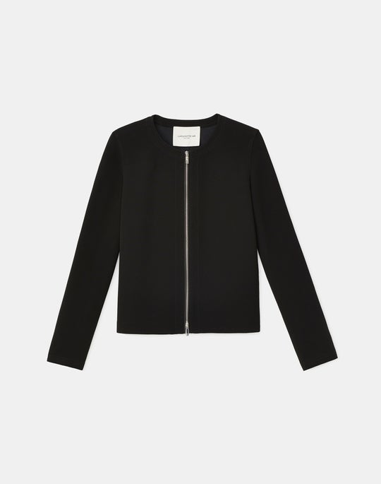 Griffith Jacket In Finesse Crepe