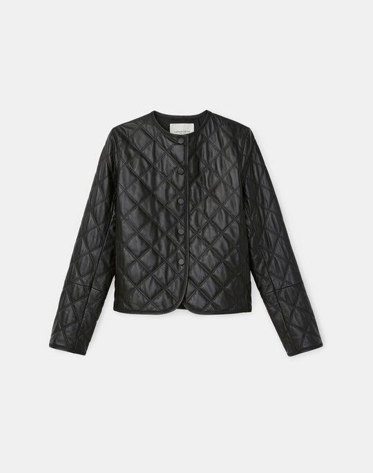 Alden Jacket In Tissue Weight Lambskin Leather