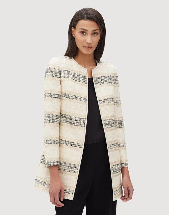 Plus-Size Tempera Novelty Pria Jacket