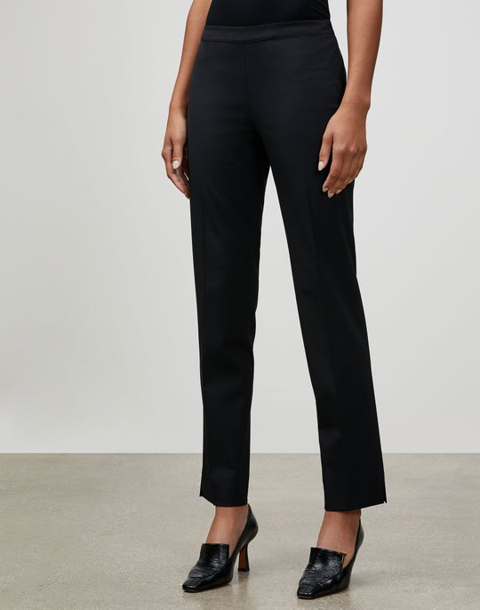 Plus-Size Italian Stretch Wool Bleecker Pant