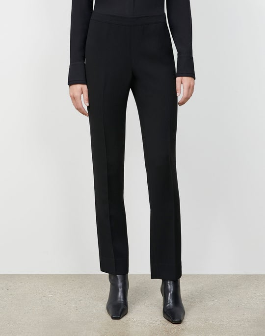 Petite Finesse Crepe Bleecker Pant