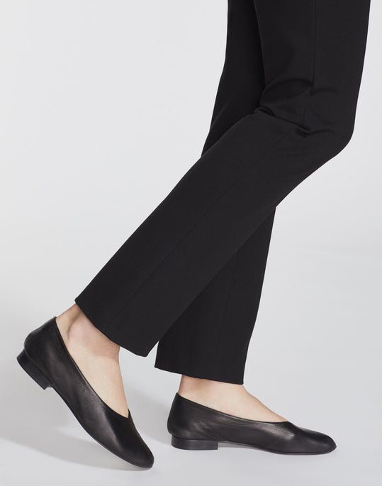 Plus-Size Italian Punto Milano Kent Pant