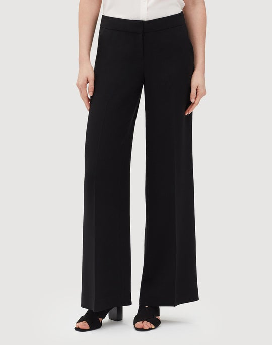 Plus-Size Finesse Crepe Kenmare Pant