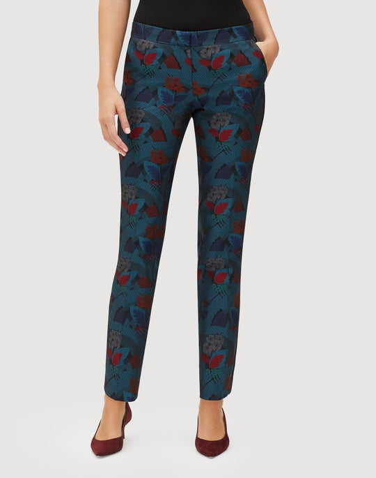 Muse Jacquard Manhattan Slim Pant