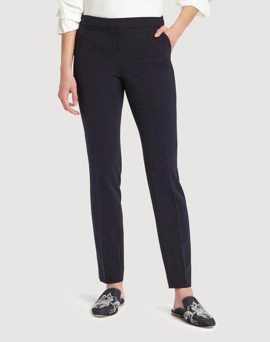 Sleek Tech Cloth Manhattan Slim Pant