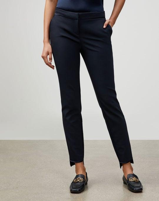 Petite Acclaimed Stretch Step Hem Manhattan Slim Pant
