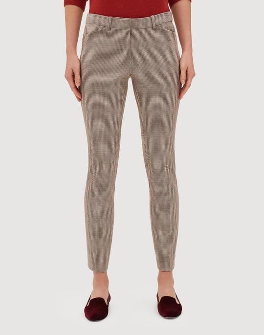 Haberdashery Mini Check Manhattan Skinny Pant