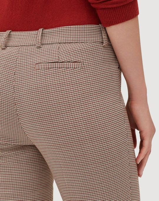Petite Haberdashery Mini Check Manhattan Skinny Pant