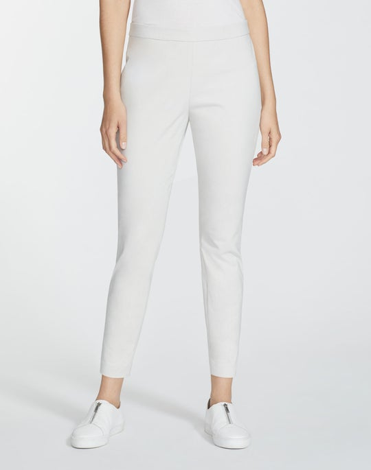 Petite Italian Techno Stretch Twill Cropped Murray Pant
