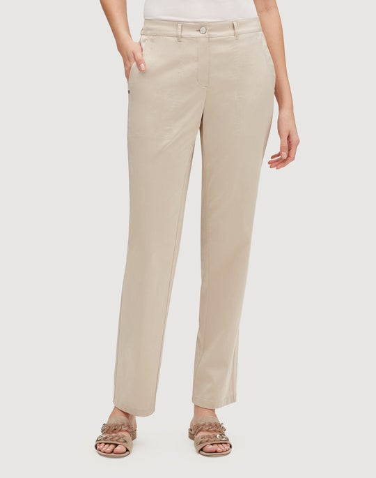 Urbane Satin Cloth Fulton Pant