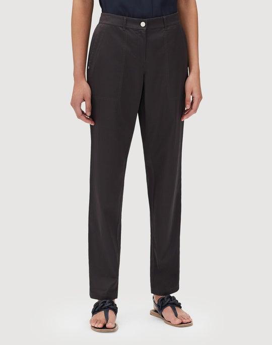 Petite Urbane Satin Cloth Fulton Pant