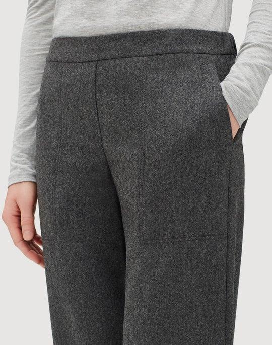 Plus-Size Finite Italian Flannel Fulton Pant