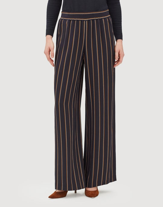 Studio Stripe Drape Cloth Hester Pant