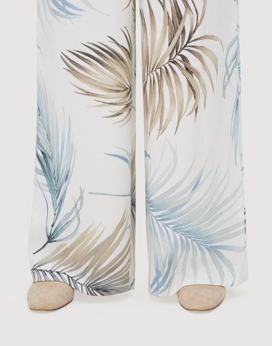 Posh Palm Drape Cloth Hester Pant