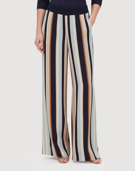 Moderne Stripe Drape Cloth Hester Pant