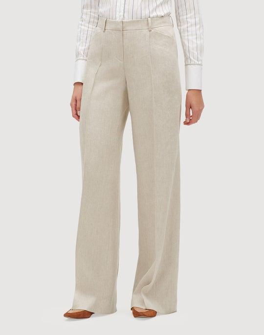 Plus-Size Bespoke Weave Howard Pant