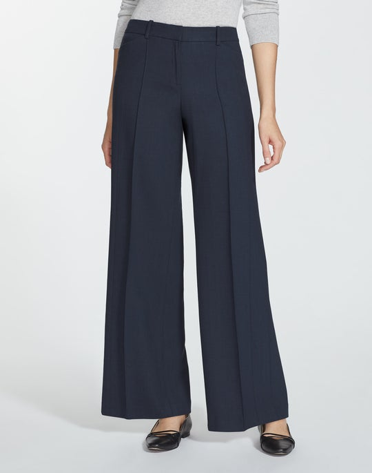 Luxe Italian Double-Face Howard Pant