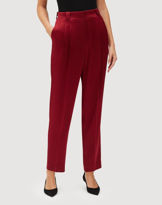 Petite Reverie Satin Cloth Vestry Pant