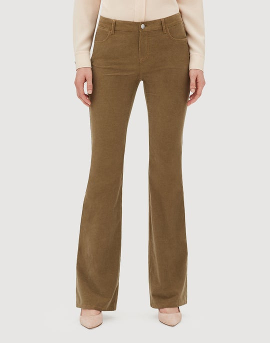 Curated Corduroy Mercer Flare Pant