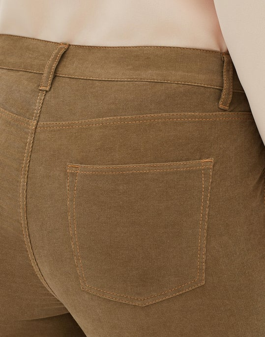 Petite Curated Corduroy Mercer Flare Pant