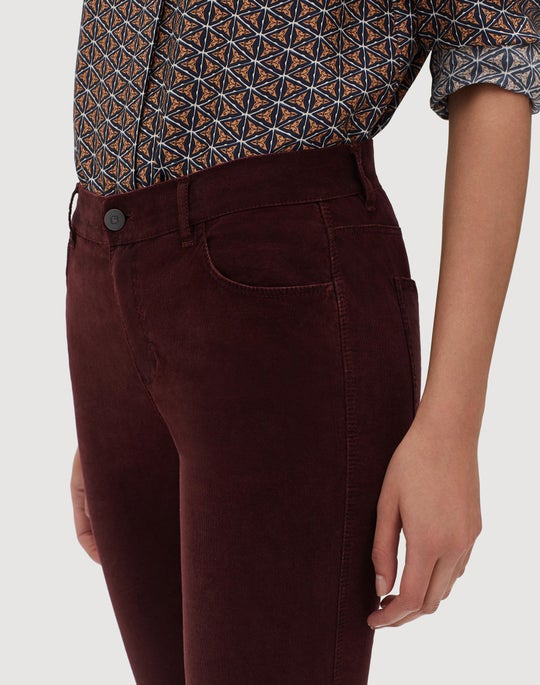 Plus-Size Curated Corduroy Mercer Flare Pant