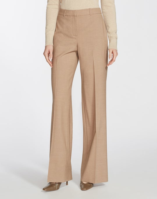 Petite High Line Suiting Dalton Wide-Leg Pant