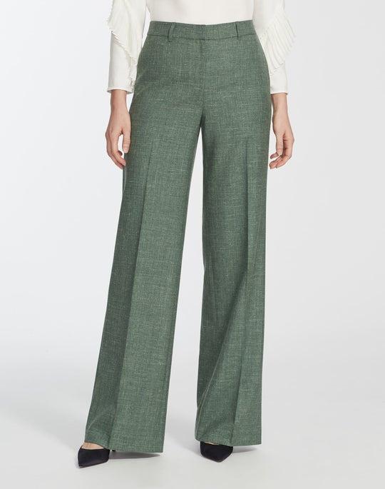 Plus-Size Marled Cloth Dalton Wide-Leg Pant