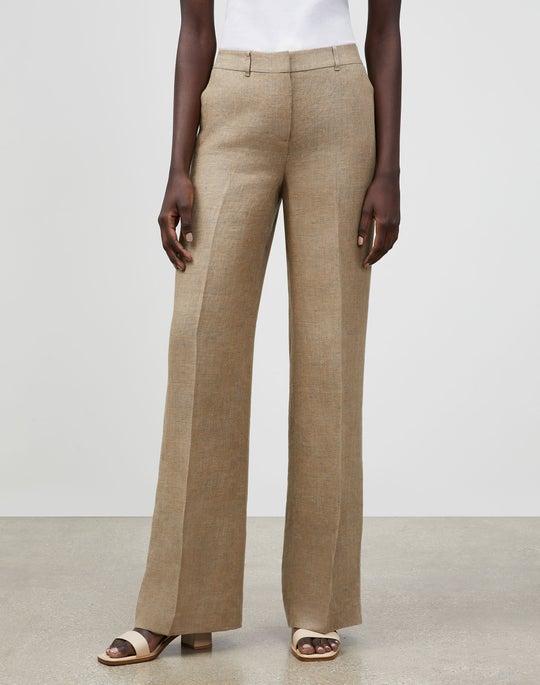 Dalton Wide-Leg Pant In Moda Linen