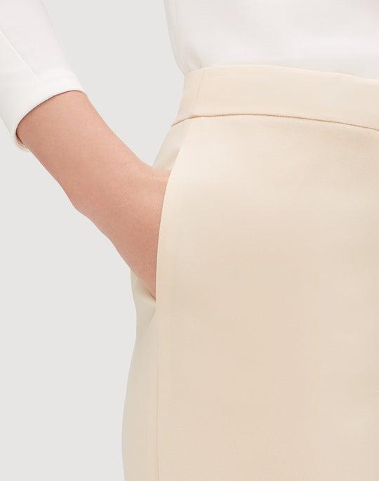 Plus-Size Finesse Crepe Dalton Pant