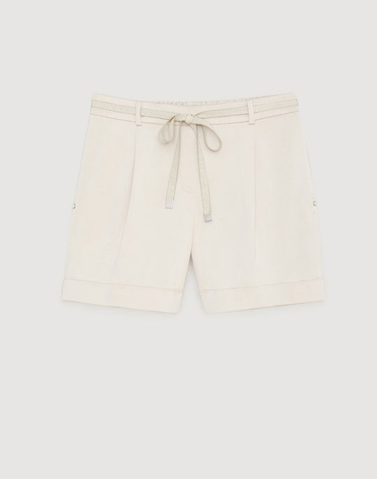 Urbane Satin Cloth Columbus Short
