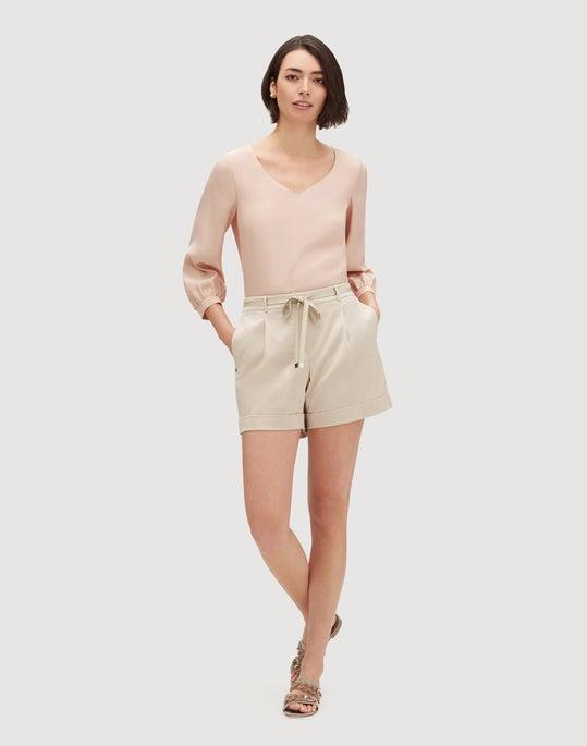 Urbane Satin Cloth Columbus Short