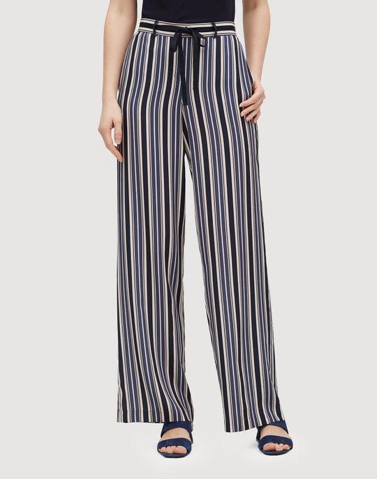 Painted Desert Stripe Columbus Wide-Leg Pant