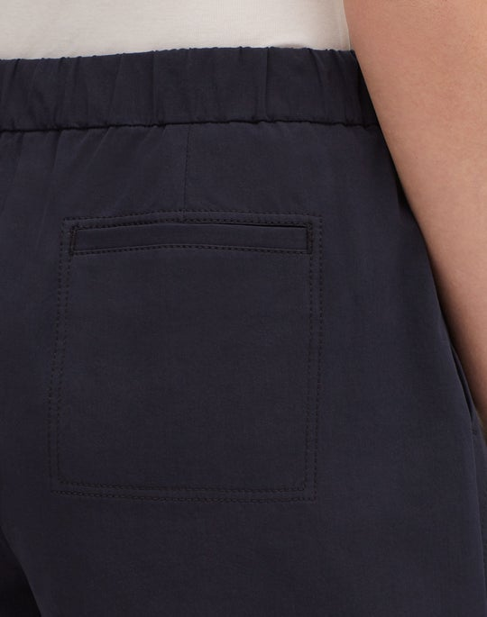 Petite Italian Bi-Stretch Pima Cotton Fulton Short