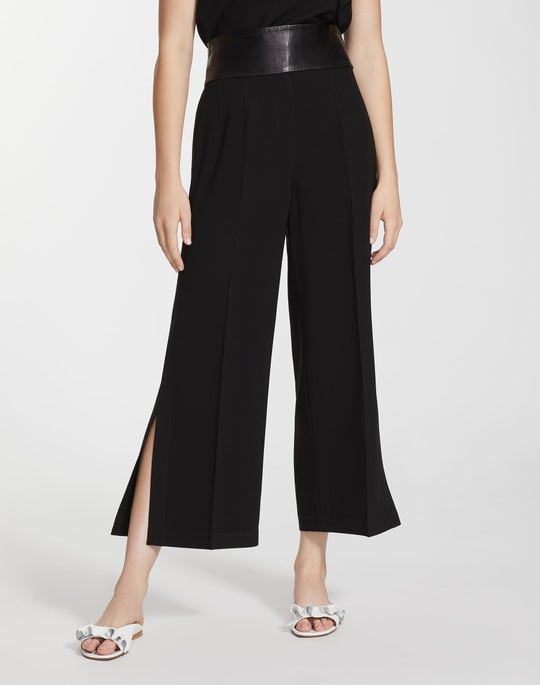 Finesse Crepe Cropped Downing Pant