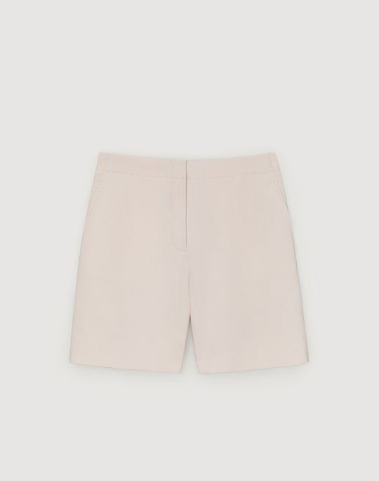 Surrealist Double Face Wool Ryerson Short
