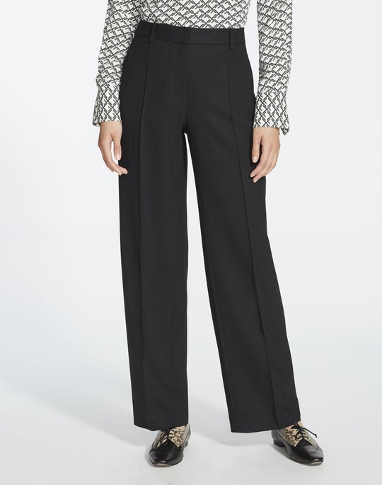 Luxe Italian Double-Face Winthrop Pant