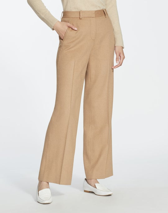 Camel Hair Winthrop Pant